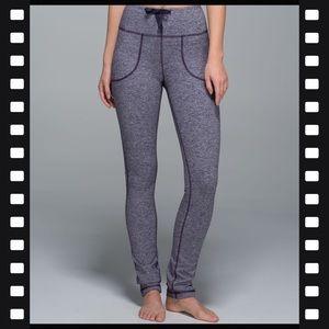 Lululemon Athletica |Purple Skinny Will Yoga Pants